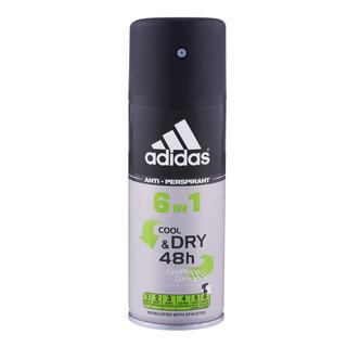 Adidas Men 6 in 1 Anti-Perspirant Spray - Cool & Dry