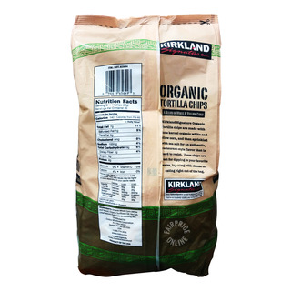Kirkland Signature Organic Tortilla Chips 1 13kg  FairPrice