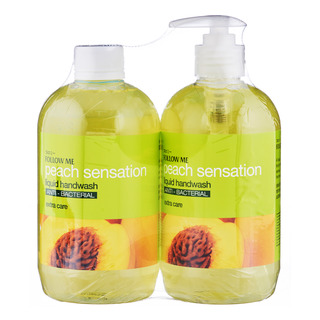 Follow Me Liquid Handwash with Refill - Peach Sensation