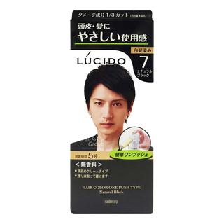 Lucido Colour Hair Dye - 7 (Natural Black)