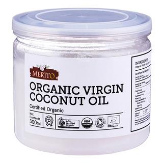 Merito Certified Organic Virgin Coconut Oil 300ml  FairPrice