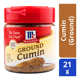 McCormick Spices - Cumin (Ground) 21g| FairPrice Singapore