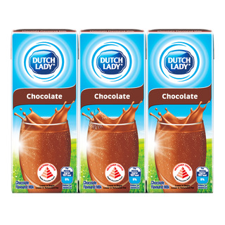 Dutch Lady Pure Farm UHT Flavoured Milk - Chocolate