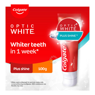 Colgate Optic White Toothpaste - Plus Shine