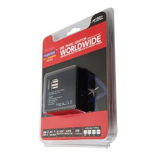 Morries USB Travel Adaptor (MS-006BK)