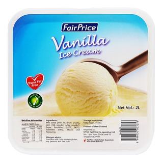 FairPrice Ice Cream Tub - Vanilla