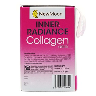 New Moon Inner Radiance Collagen Bottle Drink