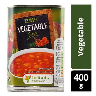 Tesco Soup - Vegetable