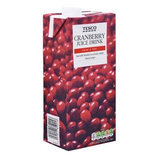Tesco Juice Drink - Cranberry