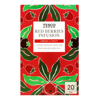 Tesco Tea Bags - Red Berries