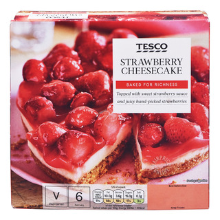 Tesco Frozen Cheesecake - Strawberry