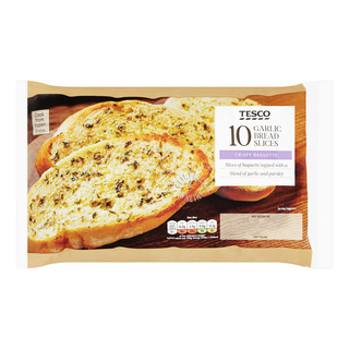 Tesco Frozen Garlic Bread - Slices