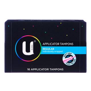 Kotex U Applicator Tampons - Regular