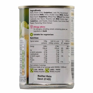 Tesco Soup - Potato & Leek