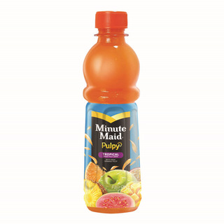 Minute Maid Pulpy Bottle Juice Drink - Tropical