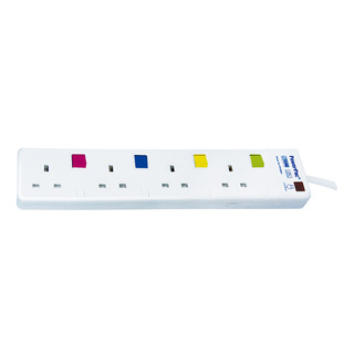 PowerPac Extension Socket - 4 Way (PP468)