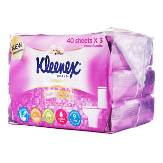 Kleenex Ultra Soft Toilet Tissues - Moist