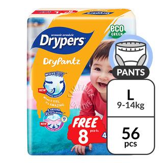 Drypers Drypantz Pants - L (9 - 14kg)