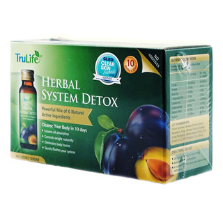 TruLife Herbal System Detox Drink - No Sugar Added