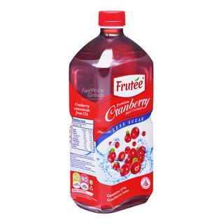 Frutee Premium Cranberry Juice Bottle Cocktail