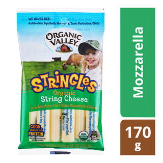 Organic Valley Stringles Organic Cheese -Mozzarella