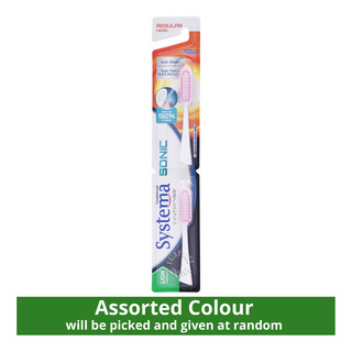 Systema Sonic Electric Toothbrush Refill - Regular