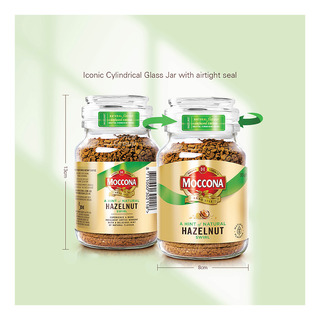Moccona Flavour Infused Coffee - A Hint of Hazelnut