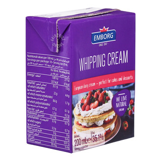 Emborg European Whipping Cream