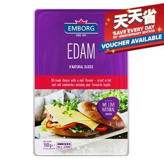 Emborg Natural Cheese Slices - Edam