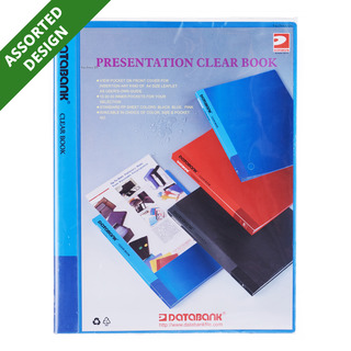 Databank Presentation Clear Book - A4