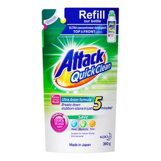 Attack Liquid Detergent Refill - Quick Clean