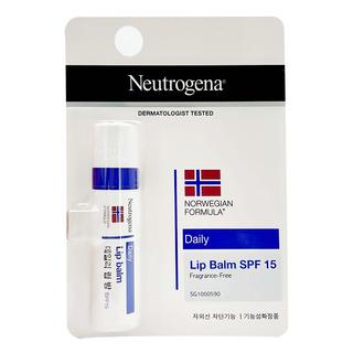 Neutrogena Lip Moisturizer (SPF 15)