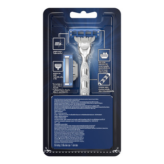 Gillette Razor with Refill - Mach 3 (Turbo)