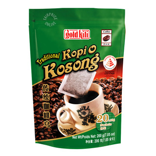 Gold Kili Traditional Kopi O Kosong