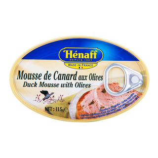 Henaff Duck Mousse - Olives