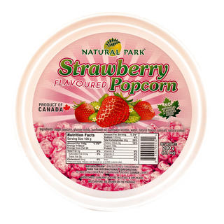 Natural Park Popcorn Tub - Strawberry