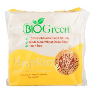 Bio Green Napkin 23 x 23cm (2ply)
