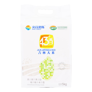 Brilliance Fragrance 43°N Jilin Japonica Rice