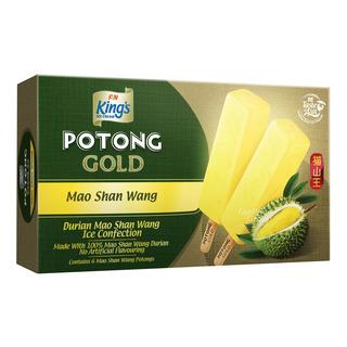 King's Potong Gold Ice Cream - Mao Shan Wang Durian