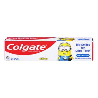 Colgate Kid Toothpaste - Minions (Bubble Fruit)