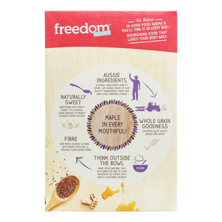 Freedom Foods Whole Grain Cereal - Maple Crunch