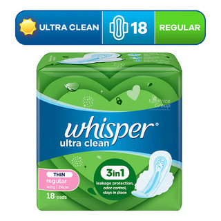 Whisper Ultra Clean Wings Pads - Norm Day (24cm)