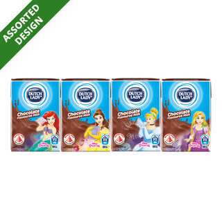 Dutch Lady Princess UHT Kid Milk - Chocolate