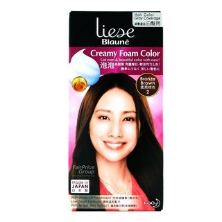 Liese Blaune Creamy Foam Hair Colour - Bronze Brown (2)