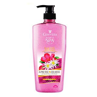 Ginvera World Spa Shower Scrub - Swiss (Alpine Rose&Edelweis