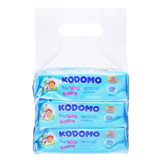 Kodomo Baby Wipes - Refreshing