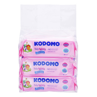 Kodomo Baby Wipes - Moisturizing