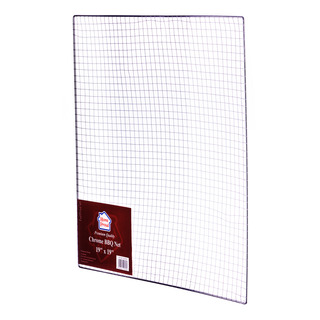 HomeProud Chrome BBQ Net - Square