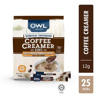 Owl 2 in 1 Instant Coffee with Creamer
