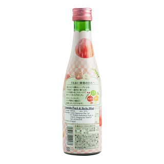 Yomeishu Fruits & Herbs Tonic Bottle Drink - Peach
